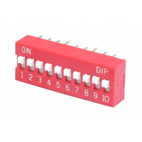 DIP SWITCH 10 POSITI