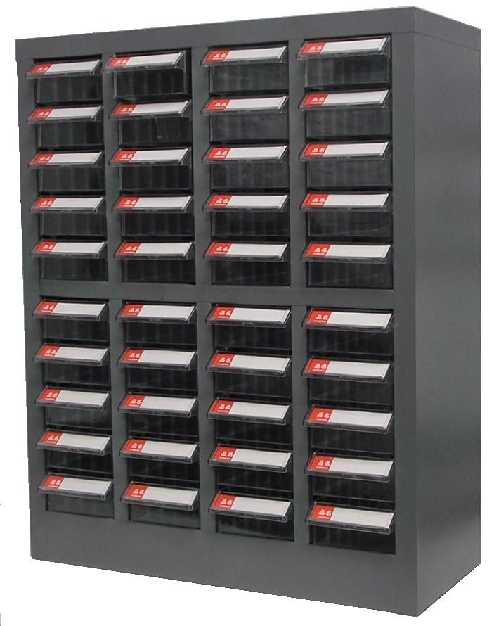 Cabinet de rangement en métal 40 tiroirs