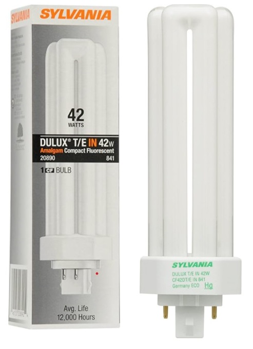 Ampoule fluorescente 42W T4 triple tube