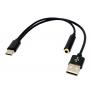 CABLE TYPE C  AVEC  AUDIO ET USB (2)